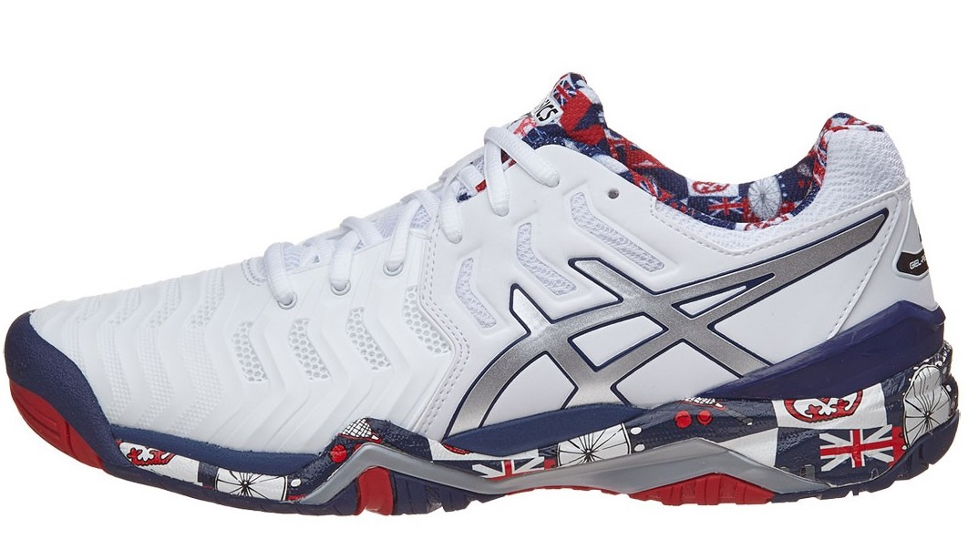 Asics Gel Resolution 7 LE London - Sepatu Tenis Adidas Nike Original ... 86df48edf0