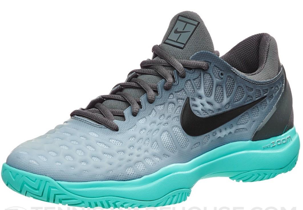 Nike Zoom Cage 3 Grey Light Blue - Sepatu Tenis Adidas Nike Original ... 3a87a2a756