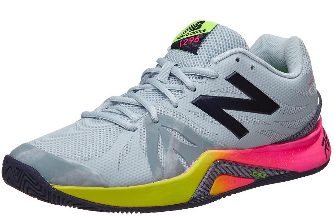 New Balance 1296v2 Grey Pink Yellow - Sepatu Tenis Adidas Nike ... df14a5e246