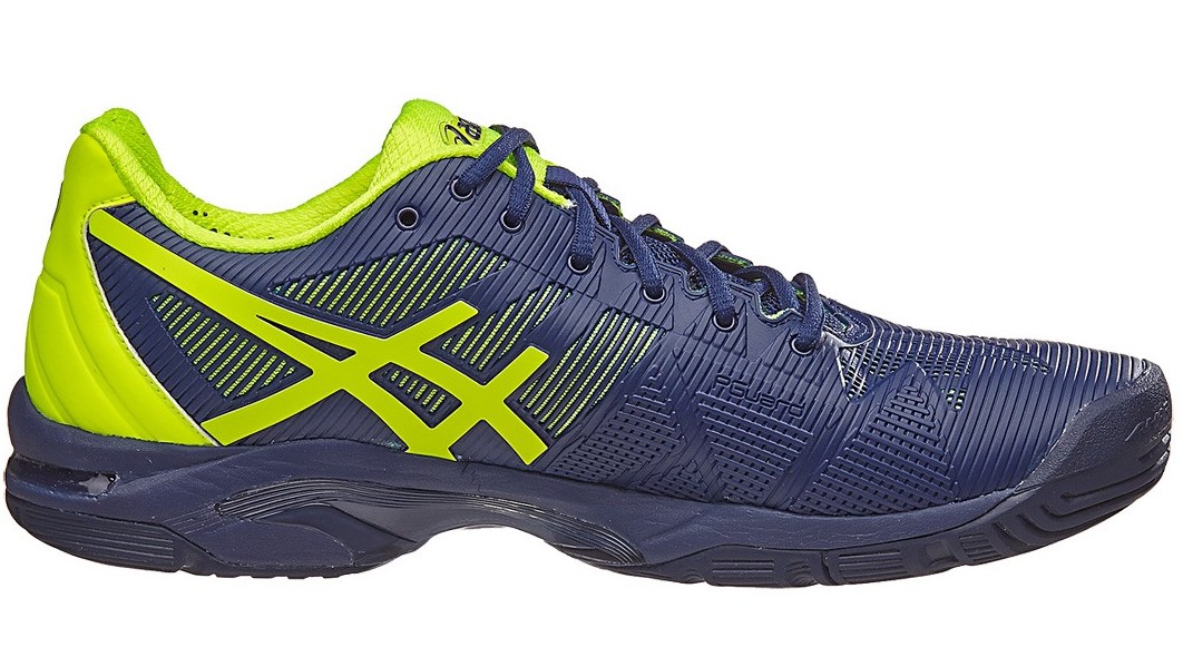 Asics Gel Solution Speed 3 Blue Yellow - Sepatu Tenis Adidas Nike Original    Perlengkapan Tas Tenis Murah 203212a6ac